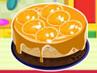 Cuisine un g�teau cheesecake � l'orange